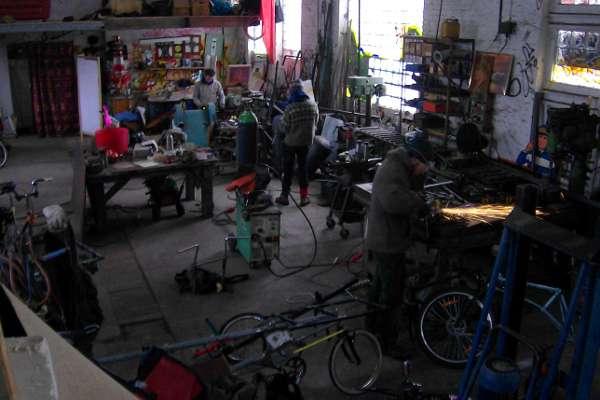 Building bikes